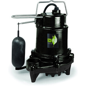 ECO-FLO Products EFSA50 12 hp 5160 Gph Cast Iron Sump Pump