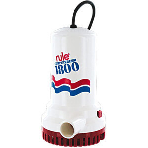 Rule A53 Series 1800 GPH Submersible SumpUtility Pump