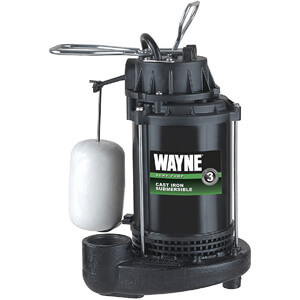 WAYNE CDU800 1/2 HP Submersible Cast Iron