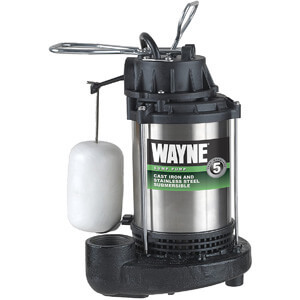 WAYNE CDU980E 34 HP Submersible Sump Pump