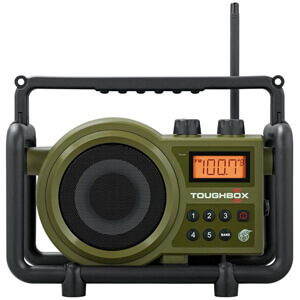 Sangean TB-100 (Toughbox) Rechargeable Radio