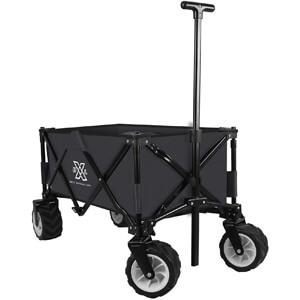 BXL Heavy Duty Collapsible Folding Garden Cart