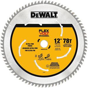 DEWALT DWAFV31278 Flexvolt 78T, 12