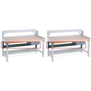 Edsal ST72 15 Gauge Steel Work Bench