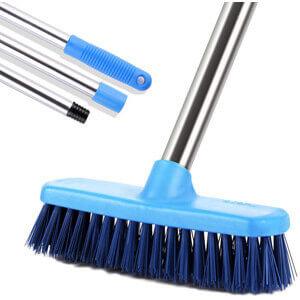 MEIBEI Floor Scrub Brush with Adjustable