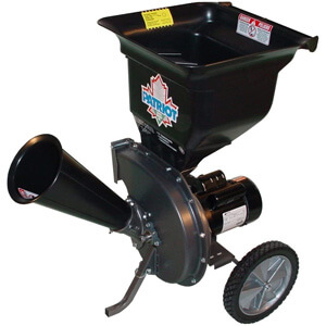 Patriot Products CSV-2515 Electric Chipper Shredder