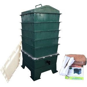 VermiHut 5-Tray Worm Composter